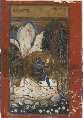 Asavari Ragini from a Ragamala (garland of melodies)