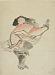 : Monkey Performing a Kabuki Dance