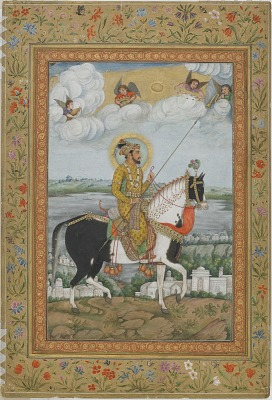 Equestrian Portrait of the Emperor Shah Jahan from the Kevorkian Album