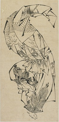 Male dancer, Manzai