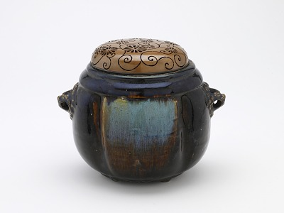 Live-coal container or incense burner