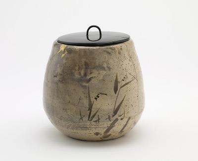 Karatsu ware tea ceremony water jar