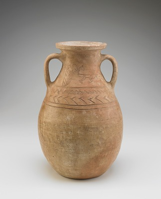 Jar with two lugs