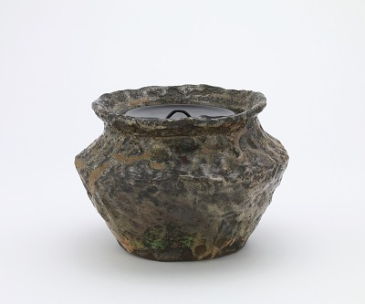 Tea ceremony water jar, fushiki type