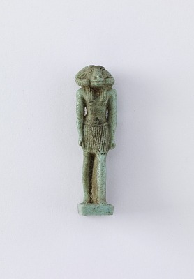Standing figure of the deity Khnum