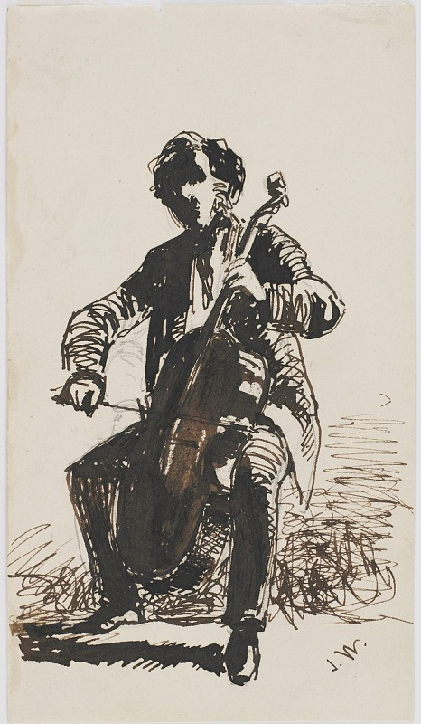 Image for Seymour Haden Playing the Cello