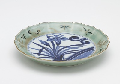 Arita ware dish from a set of ten