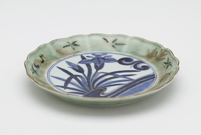 Dish, from a set of ten with original box