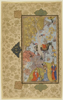 Iskandar visits a hermit