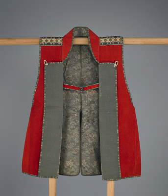 Warrior's surcoat (<em>jinbaori</em>) with Nabeshima crest