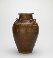 Jar with six vertical lugs