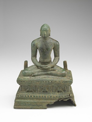 Seated Jina, probably Mahavira