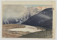 Twelve Views of the Japan Alps: Tateyama Betsuzan