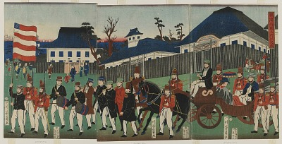 Procession of Foreigners at Yokohama