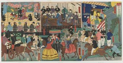 Amusements of Foreigners at Yokohama