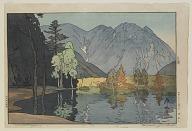 Mount Hodaka from the series, Twelve Scenes in the Japan Alps