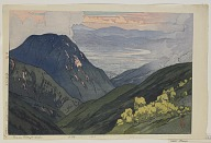 From Daitenjodake, from the series, Twelve Scenes in the Japan Alps