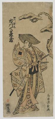 The Actor Ichikawa Komazo I as Hosokawa Katsumoto