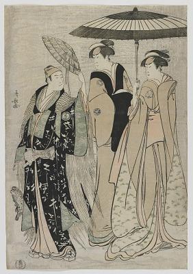 The Actors Sujuro III as Minamoto no Yoritomo, Nakamura Riko as Kiyotaki, Yamashita Mangiku as Masa