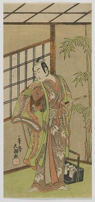 The Actor Ichikawa Komazo II