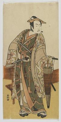 The Actor Ichimura Uzaemon VIII as a Visitor to the Yoshiwara