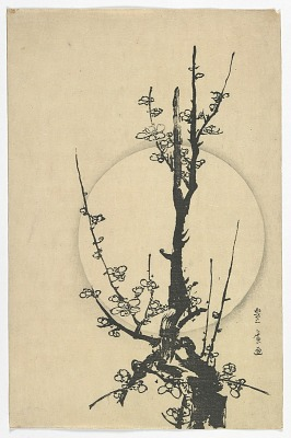 Plum Branch and Moon