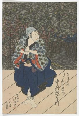 The Actor Nakamura Utaemon III as Ichikawa Goemon Disguised as the Farmer Gosaku