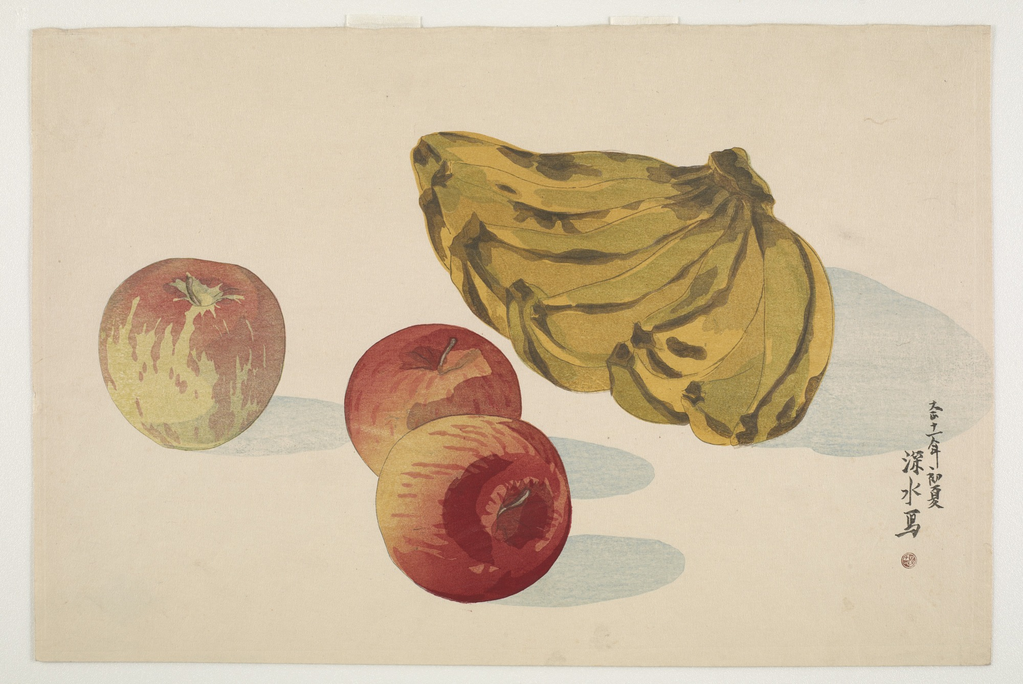 images for Bananas and apples
