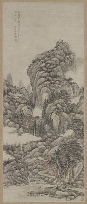 Landscape in the Style of Wang Meng