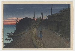 Aikawachō, Sado, from the series Souvenirs of Travels, Second Collection