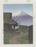Mount Fuji in Funatsu