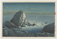 Murotozaki promontory, Tosa, from the series Collection of Ukiyo-e designs