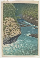 Jogakura, Hakkoda, from the series Collection of scenic views of Japan, Eastern Japan edition