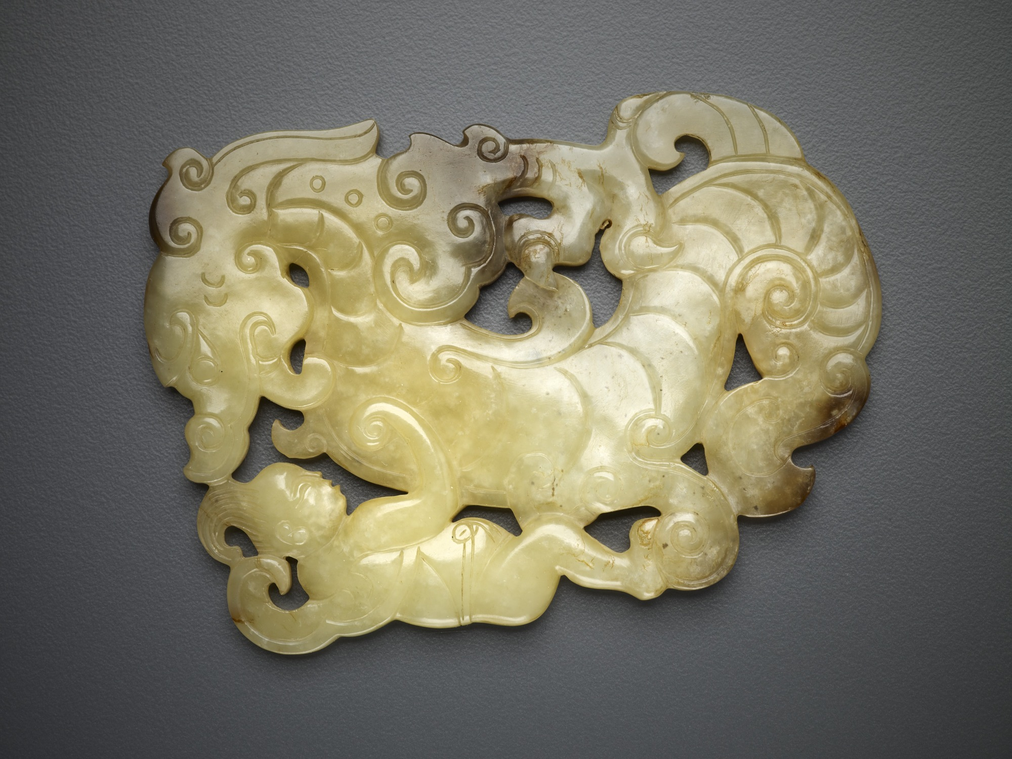images for Plaque in the form of a dragon