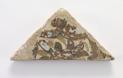 Triangular tile