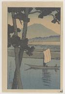 Evening at Kiso River