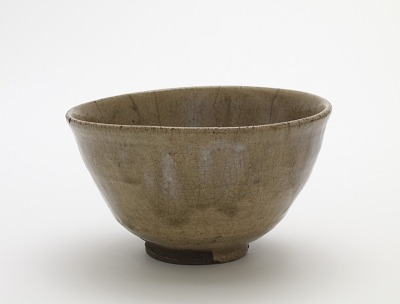 Tea bowl in Korean style, Karatsu ware