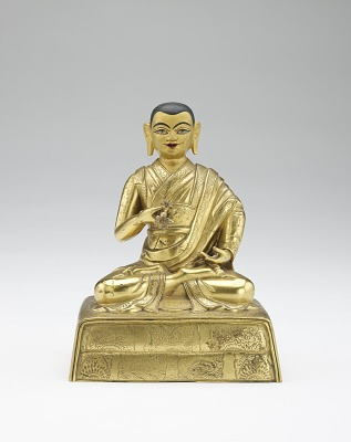 Twelfth Dalai Lama, Trinlay Gyatso, from a partial set of lamas and teachers