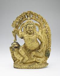 Vaishravana on a Snow Lion