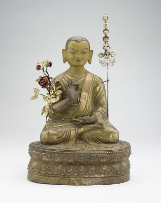 Lama, possibly Jangkya Rolway Dorje (1717-1786) or one of the Panchen Lamas