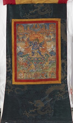 Thangka of between-state Heruka Mother-Father