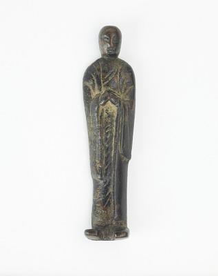 Statuette of a Buddhist disciple