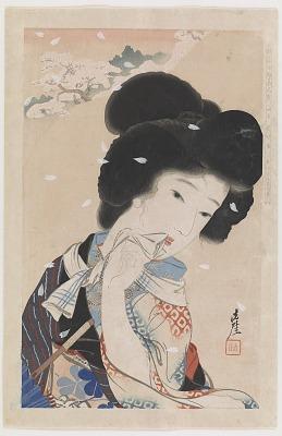 April: Ukiyo-e Beauties