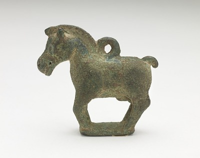 Ornament in the form of a standing horse