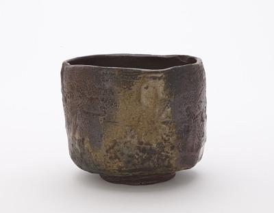 Bizen ware tea bowl