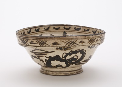 Serving bowl, Kyoto-related ware