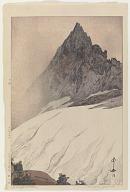 Yarigatake, from the series Twelve Scenes of the Japan Alps