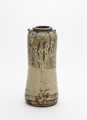 Satsuma ware vase, Ryumonji kilns