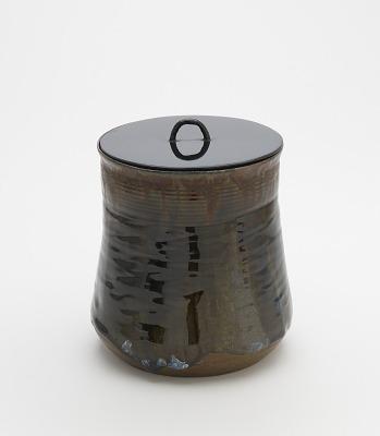 Takatori ware tea ceremony water jar, Higashi Sarayama kiln