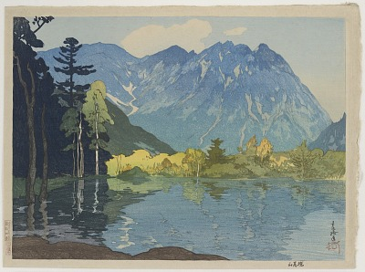 Hodakayama, from the series Twelve Scenes of the Japan Alps